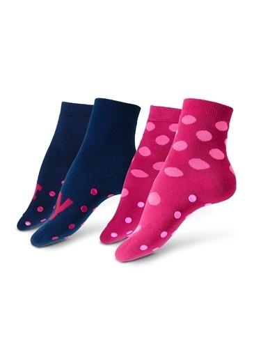 7 Çift Ev Çorabı-Tchibo
